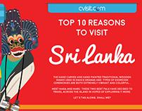 Info graphic: Top ten reasons to visit Sri Lanka