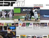 ESPN PLUS APP- ON AIR DESIGN