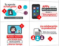 Infografías para Vodafone