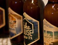 Lakehouse Beer Branding