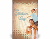 Father's Day bulletin cover design