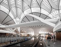 Beijing Daxing Airport - Zaha Hadid Architects