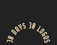 30 days 30 logos