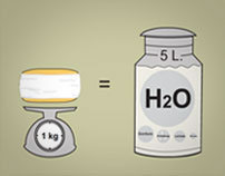 Cheese manufacture Interactive Infographics