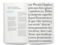 Type Design - Philosophie de la Frisonne