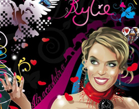 Kylie Minogue, Abracadabra Fantasy Illustration
