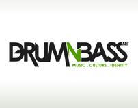 DrumnBass.net Logo Design