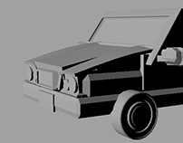 Car Model - Introduction to Entertainment Arts