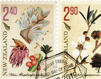 NZ Native Trees Stamps