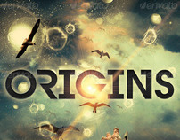 Origins Flyer, Ticket and CD Template