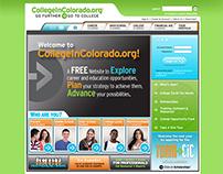 CollegeInColorado.org Website Redesign