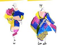 Fashion Collage GIF