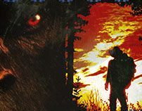 "Poster Design: ""Hombre Y Tierra"" & ""The Woodsman"""