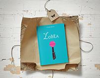 """Cover book """"Lolita"""" by Vladimir Nabokov"""