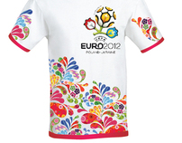 T-shirt Euro 2012
