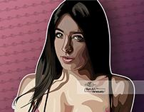 María Fernanda Padilla Vector Art