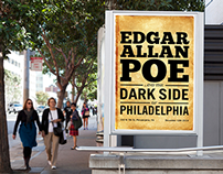 Edgar Allan Poe Exhibition Design