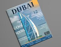 Dubai : Travel Magazine Cover
