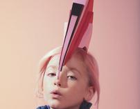 Accesories for Nick & Chloé Birds fashion shoot