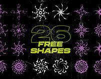 26 shapes [FREE]