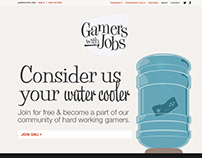 Gamers With Jobs Concept