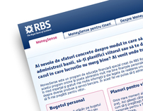 RBS - Royal Bank of Scotland - Moneysense
