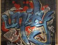 Graffiti - Hermès Window Display
