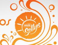Promoção Copos Decorados - Sollys Nestlé