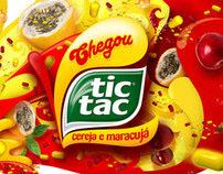 Lançamento - Tic Tac Cereja e Maracujá