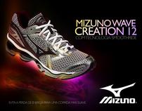 Mizuno Wave Creation 12 - Lançamento
