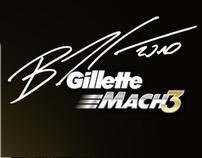 Emalagem Promocional - Gillette Bruno Senna