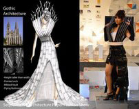Paper Architecture Fashion Show for Sequence 2011