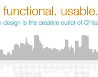 pseudoroom design (personal folio site)