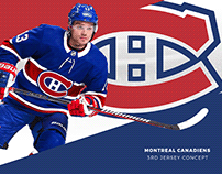Montreal Canadiens 3rd Jersey Concept