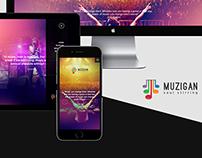 Muzigan Web UI