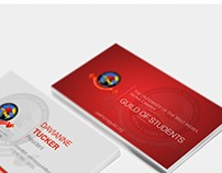 UWI Mona Guild Business Card Design