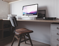 Men's home office