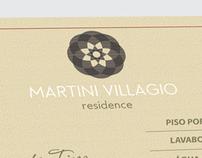 Construtora CCV - Folder Martini Villagio
