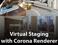 Virtual Staging with Corona Renderer