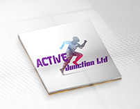ACTIVE JUNCTION LTD. Company Logo Design.