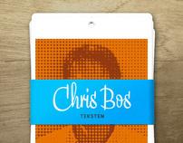Chris Bos - copywriter