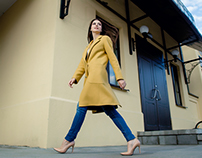 Fashion street shooting for Lika Saro