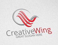 Creative Wing | Logo Template [FOR SALE]