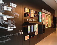 ON! Handcrafted Digital Paygrounds · Exhibition Design