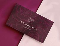 Lucinda Wild Floristry brand design