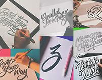 Hand Lettering Logos Vol.1 [2015]