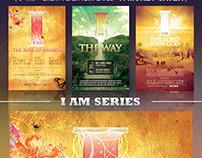Church Flyer Template Bundle Vol 7 - I Am Series