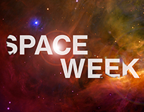 Discovery   Space Week Network Tie-In Graphics