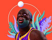 NBA & NFL Players Portraits | Sideline