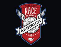 Tshirt graphic for Race Across America Apparel